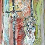 Saint Cecilia Ronda Spain Art Print