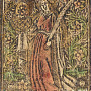 Saint Dorothy Art Print
