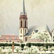 Saint-elisabeth Church Art Print