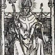 Saint Erasmus Art Print