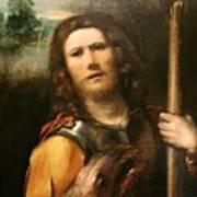 Saint George 1513 Art Print