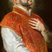 Saint Ignatius Art Print
