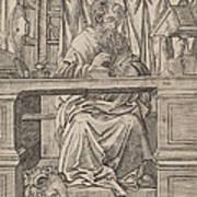 Saint Jerome In His Study Art Print