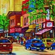 Saint Lawrence Street  Art Print