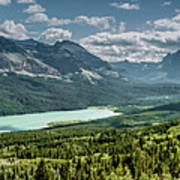 Saint Mary Lake Panorama Art Print