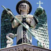 Saint Michael The Archangel Lucca Tuscany Art Print