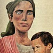 Saint Mother Art Print