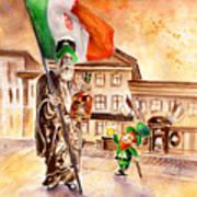 Saint Patricks Pub Art Print