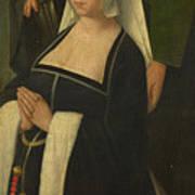 Saint Paul And A Donatrix Art Print