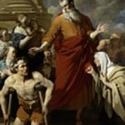 Saint Paul Healing The Cripple At Lystra Art Print