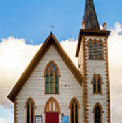 Saint Paul's Episcopal Church Verginia City Nevada Art Print