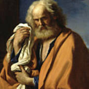 Saint Peter Penitent Art Print