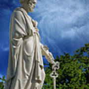 Saint Peter With Keys To Heaven Art Print