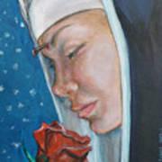 Saint Rita Of Cascia Art Print