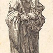 Saint Simon Art Print