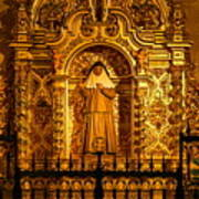 Saints Chapel Art Print