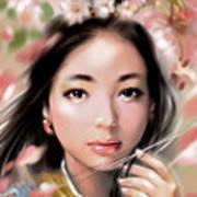 Sakuya Hime Art Print