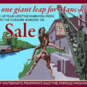 Sale Poster By Eric Jackson, Statement Artwork Art Print