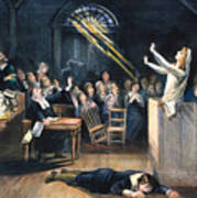 Salem Witch Trial, 1692 Art Print