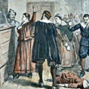Salem Witch Trials Art Print