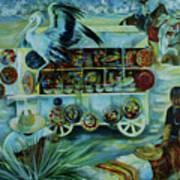 Salers Of Treasures. Art Print