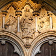 Salisbury Cathedral Doors Art Print
