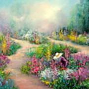 Sally's Garden Art Print