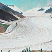 Salmon Glacier, Frozen Motion Art Print