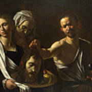 Salome Receives The Head Of Saint John The Baptist Art Print