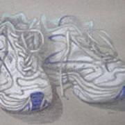 Sal's Sneakers Art Print
