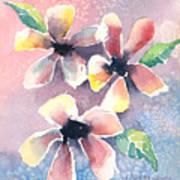 Salt Flowers Art Print