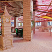 Salt Hotel, Salar De Uyuni, Bolivia Art Print