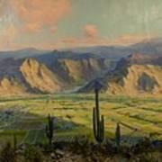 Salt River Irrigation Project - Arizona Art Print