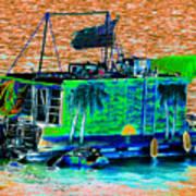 Salt Water Living Art Print