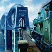 Saltash Bridge. Art Print