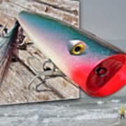 Saltwater Fishing Art Print