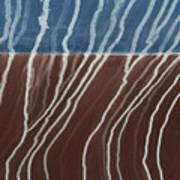 Saltwater Trails #1 Art Print