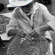 Salvadorean Handcrafter Art Print