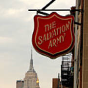Salvation Army New York Art Print
