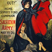 Salvation Army Poster, 1919 Art Print