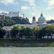 Salzburg City View Five Art Print