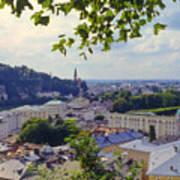 Salzburg City View Four Art Print