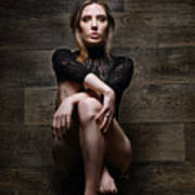 Samantha Bentley, Hair Bondage - Fine Art Of Bondage Art Print