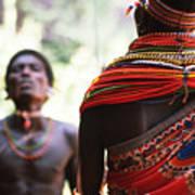 Samburu Tribe Art Print