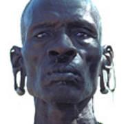Samburu Warrior In Kenya Art Print