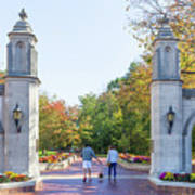 Sample Gates At University Of Indiana Art Print