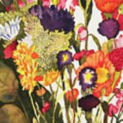 Sam's Flowers Art Print