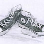 Sam's Shoes Art Print