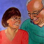 Samson And Delia Art Print