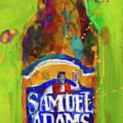 Samuel Adams Boston Ale Art Print